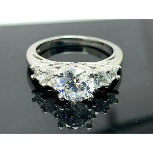Engagement Ring Brilliance Sterling Zirconia SZ 8